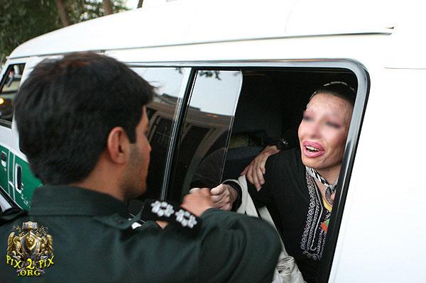 Image result for گشت ارشاد بدحجاب